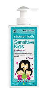 Frezyderm Sensitive Kids Shower Bath Family 200ml