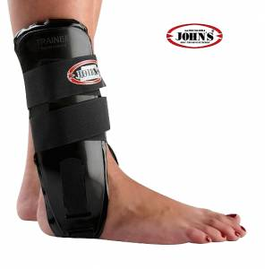 JOHN'S ACTION FOAM ANKLE BRACE BLACK NEOPREN ONE SIZE