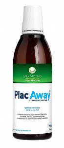 PlacAway Daily Care Strong 500ml Στοματικό Διάλυμα με Δυνατή Γεύση