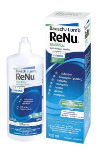 Bausch and Lomb ReNu MultiPlus Υγρό Φακών Επαφής 360ml