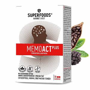 Superfoods MemoAct Plus 30 κάψουλες