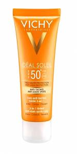 Vichy Ideal Soleil Anti Dark Spot 3 in 1 SPF50+ 50ml κατά των κηλίδων