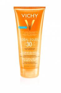 Vichy Ideal Soleil Ultra-Melting Milk Gel SPF30 200ml γαλάκτωμα-gel