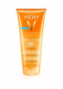 Vichy Ideal Soleil Ultra-Melting Milk Gel SPF50 200ml γαλάκτωμα-gel